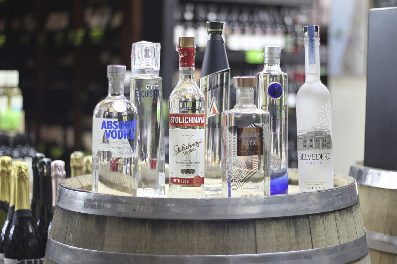 Vodka Drink Alcoholic Alcohol Bottle Drinks