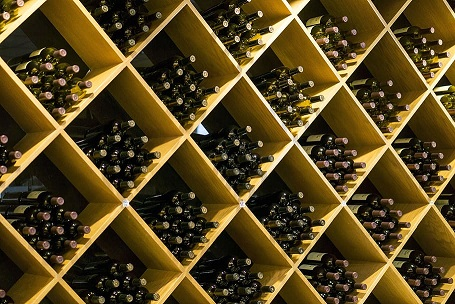 What should a wine cooler be set at
