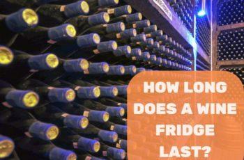 How Long Does A Wine Fridge Last